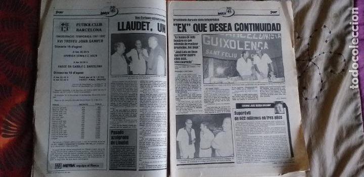 Coleccionismo deportivo: SPORT-1981-Nº617-NUÑEZ CANDIDATO-36 PAGINAS-MIGUEL ANGEL-SIMONSEN-ESTEBAN-SCHUSTER-URRUTI - Foto 11 - 21071836