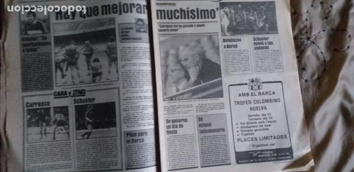 Coleccionismo deportivo: SPORT-1981-Nº617-NUÑEZ CANDIDATO-36 PAGINAS-MIGUEL ANGEL-SIMONSEN-ESTEBAN-SCHUSTER-URRUTI - Foto 12 - 21071836
