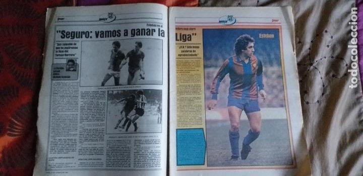 Coleccionismo deportivo: SPORT-1981-Nº617-NUÑEZ CANDIDATO-36 PAGINAS-MIGUEL ANGEL-SIMONSEN-ESTEBAN-SCHUSTER-URRUTI - Foto 13 - 21071836