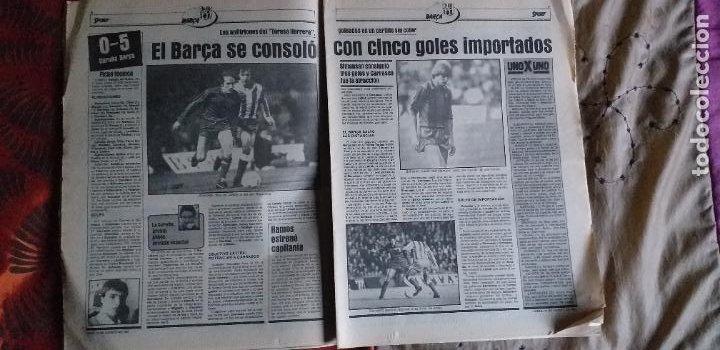 Coleccionismo deportivo: SPORT-1981-Nº617-NUÑEZ CANDIDATO-36 PAGINAS-MIGUEL ANGEL-SIMONSEN-ESTEBAN-SCHUSTER-URRUTI - Foto 15 - 21071836