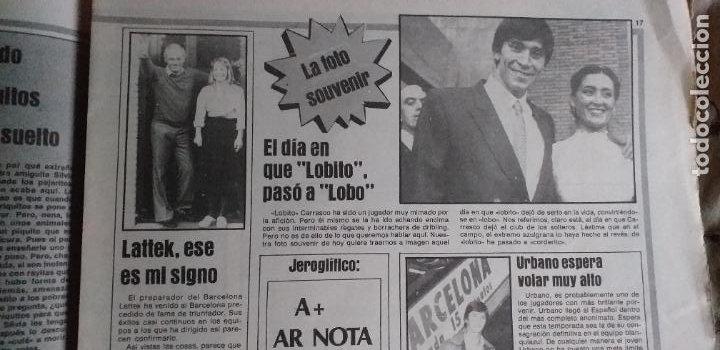 Coleccionismo deportivo: SPORT-1981-Nº617-NUÑEZ CANDIDATO-36 PAGINAS-MIGUEL ANGEL-SIMONSEN-ESTEBAN-SCHUSTER-URRUTI - Foto 16 - 21071836