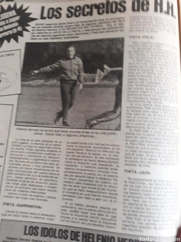 Coleccionismo deportivo: SPORT 1982 BARCA 83. QUINI. H. HERRERA . MELER . DI STEFANO .ESPAÑA 82 HIGUERAS .HINAULT. ARNOUX - Foto 4 - 237064540
