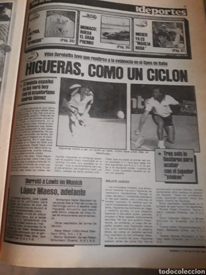 Coleccionismo deportivo: SPORT 1982 BARCA 83. QUINI. H. HERRERA . MELER . DI STEFANO .ESPAÑA 82 HIGUERAS .HINAULT. ARNOUX - Foto 9 - 237064540