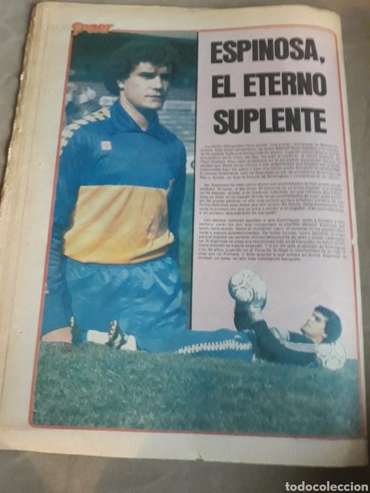 Coleccionismo deportivo: SPORT 1982 BARCA 83. QUINI. H. HERRERA . MELER . DI STEFANO .ESPAÑA 82 HIGUERAS .HINAULT. ARNOUX - Foto 13 - 237064540