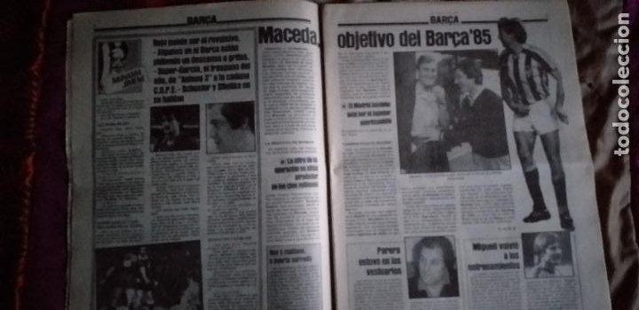 Coleccionismo deportivo: SPORT-Nº1526-1984-LUZ VERDE PARA ROJO-SCHUSTER-STIELIKE-MACEDA-AZKARGORTA-JUANITO - Foto 3 - 21071291