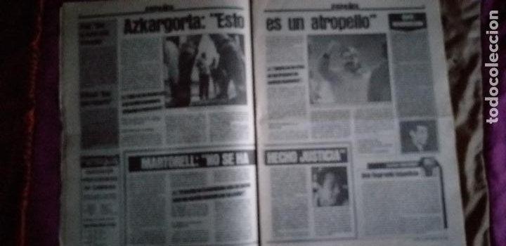 Coleccionismo deportivo: SPORT-Nº1526-1984-LUZ VERDE PARA ROJO-SCHUSTER-STIELIKE-MACEDA-AZKARGORTA-JUANITO - Foto 4 - 21071291