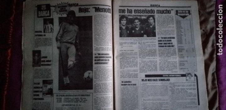 Coleccionismo deportivo: SPORT-Nº1526-1984-LUZ VERDE PARA ROJO-SCHUSTER-STIELIKE-MACEDA-AZKARGORTA-JUANITO - Foto 7 - 21071291