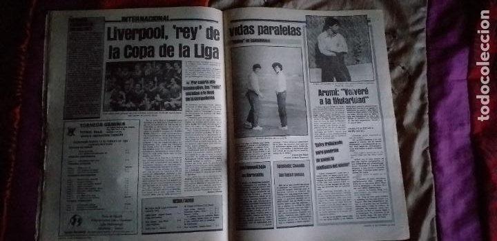 Coleccionismo deportivo: SPORT-Nº1526-1984-LUZ VERDE PARA ROJO-SCHUSTER-STIELIKE-MACEDA-AZKARGORTA-JUANITO - Foto 10 - 21071291