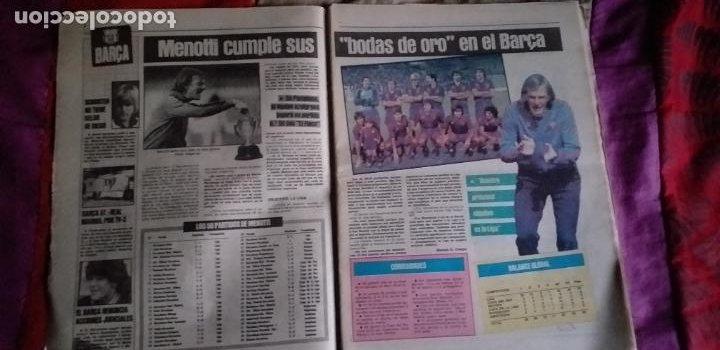 Coleccionismo deportivo: SPORT-Nº1492-1984-48 PAGINAS-MENOTTI- MARADONA-AZCKARGORTA-GIMENEZ - Foto 2 - 21071351