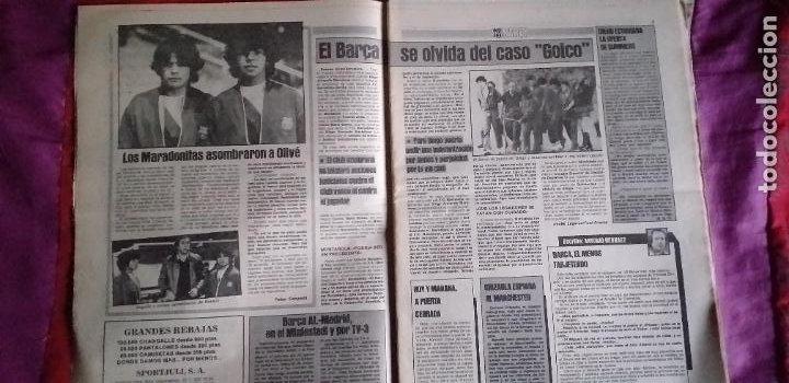 Coleccionismo deportivo: SPORT-Nº1492-1984-48 PAGINAS-MENOTTI- MARADONA-AZCKARGORTA-GIMENEZ - Foto 4 - 21071351