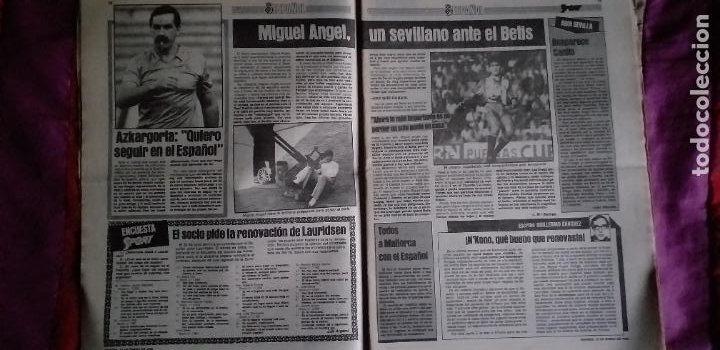 Coleccionismo deportivo: SPORT-Nº1492-1984-48 PAGINAS-MENOTTI- MARADONA-AZCKARGORTA-GIMENEZ - Foto 7 - 21071351