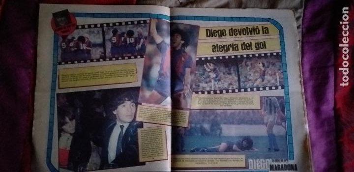 Coleccionismo deportivo: SPORT-Nº1492-1984-48 PAGINAS-MENOTTI- MARADONA-AZCKARGORTA-GIMENEZ - Foto 10 - 21071351