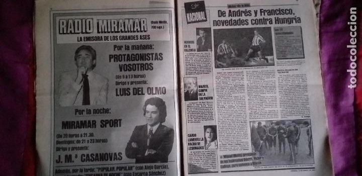 Coleccionismo deportivo: SPORT-Nº1492-1984-48 PAGINAS-MENOTTI- MARADONA-AZCKARGORTA-GIMENEZ - Foto 15 - 21071351