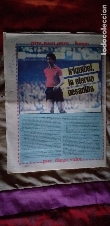 Coleccionismo deportivo: SPORT-Nº1492-1984-48 PAGINAS-MENOTTI- MARADONA-AZCKARGORTA-GIMENEZ - Foto 16 - 21071351