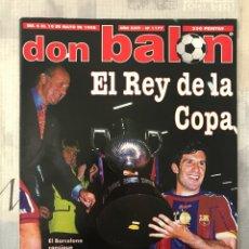 Coleccionismo deportivo: FÚTBOL DON BALÓN 1177 - POSTER BARCELONA CAMPEÓN - PORTEROS - LAUDRUP - ESPAÑA - FRANCIA 98. Lote 237302440