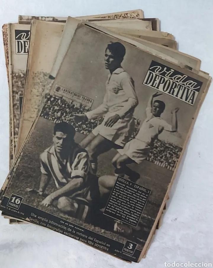 VIDA DEPORTIVA LOTE DE 103 EJEMPLARES (Coleccionismo Deportivo - Revistas y Periódicos - Vida Deportiva)
