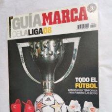 Coleccionismo deportivo: GUÍA MARCA DE LA LIGA 08. Lote 237583580