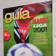 Coleccionismo deportivo: GUÍA MARCA LIGA 2001. Lote 237591595