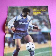 Colecionismo desportivo: REVISTA DON BALON Nº 705 1989 POSTER FONSECA REAL VALLADOLID 88/89 - TRAPATTONI - ALDRIDGE. Lote 237625265