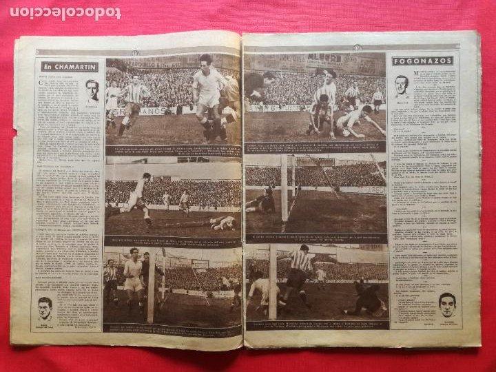 Coleccionismo deportivo: PERIODICO MARCA 1942 LIGA 41/42 ASCENSO REAL BETIS - MADRID-ATLETICO AVIACION CASTELLON 4-0 ATHLETIC - Foto 3 - 237646965