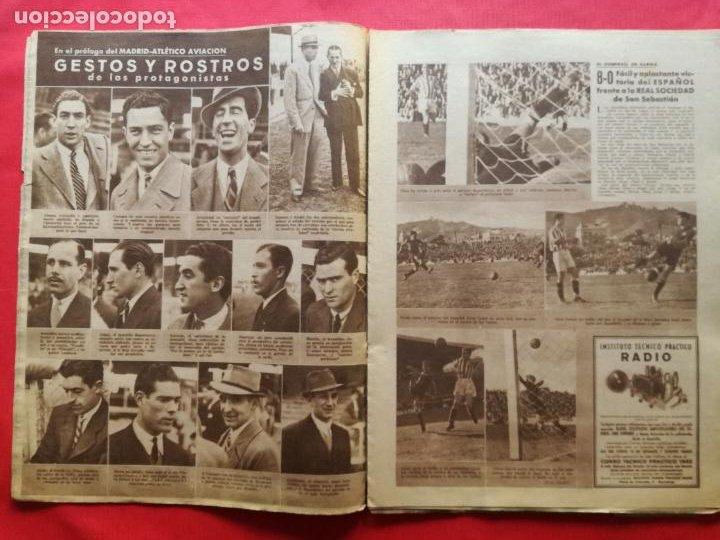 Coleccionismo deportivo: PERIODICO MARCA 1942 LIGA 41/42 ASCENSO REAL BETIS - MADRID-ATLETICO AVIACION CASTELLON 4-0 ATHLETIC - Foto 4 - 237646965