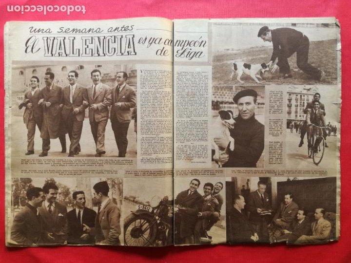 Coleccionismo deportivo: PERIODICO MARCA 1942 LIGA 41/42 ASCENSO REAL BETIS - MADRID-ATLETICO AVIACION CASTELLON 4-0 ATHLETIC - Foto 6 - 237646965