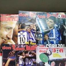 Coleccionismo deportivo: DON BALÓN - PACK ESPECIAL DEPORTIVO CAMPEÓN DON BALÓN. Lote 237647480