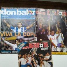 Coleccionismo deportivo: DON BALÓN - PACK ESPECIAL ZARAGOZA. Lote 237649150