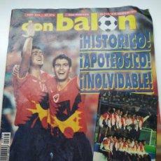 Coleccionismo deportivo: ESPAÑA CAMPEONA BARCELONA 92 - DON BALÓN. Lote 237652410