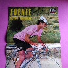 Collezionismo sportivo: REVISTA AS COLOR Nº 58 1972 POSTER FUENTE KAS GIRO ITALIA - EUROCOPA 72 EURO - OCAÑA. Lote 237669815