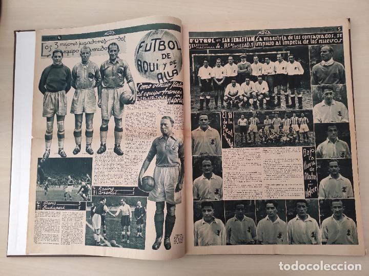 Coleccionismo deportivo: TOMO SEMANARIO GRAFICO DE LOS DEPORTES MARCA 1938-1939 13 PRIMEROS Nº 1-2-3-4-5-6-7-8-9-10-11-12-13 - Foto 17 - 237866785