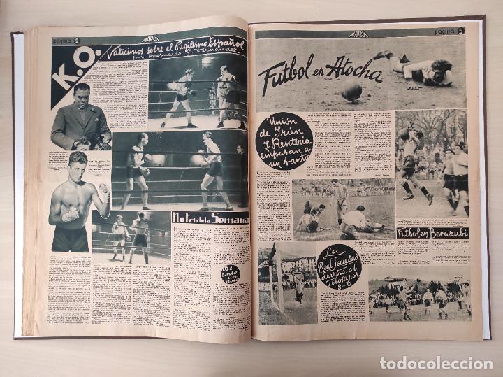 Coleccionismo deportivo: TOMO SEMANARIO GRAFICO DE LOS DEPORTES MARCA 1938-1939 13 PRIMEROS Nº 1-2-3-4-5-6-7-8-9-10-11-12-13 - Foto 19 - 237866785