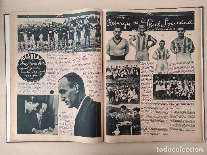 Coleccionismo deportivo: TOMO SEMANARIO GRAFICO DE LOS DEPORTES MARCA 1938-1939 13 PRIMEROS Nº 1-2-3-4-5-6-7-8-9-10-11-12-13 - Foto 20 - 237866785