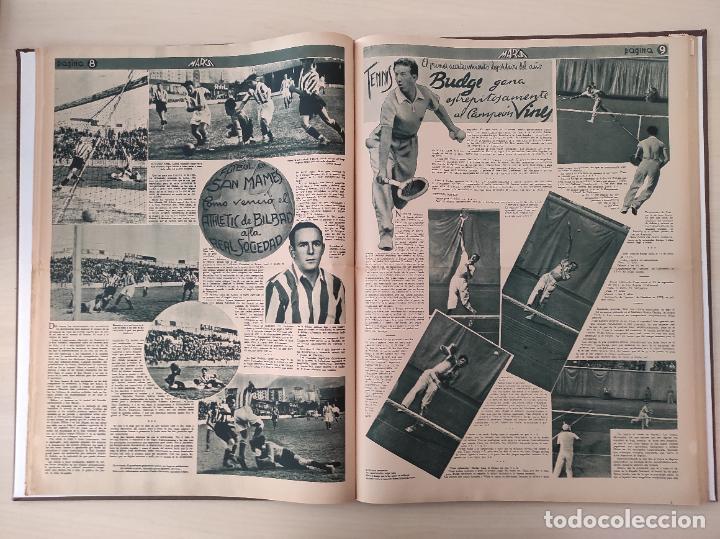Coleccionismo deportivo: TOMO SEMANARIO GRAFICO DE LOS DEPORTES MARCA 1938-1939 13 PRIMEROS Nº 1-2-3-4-5-6-7-8-9-10-11-12-13 - Foto 21 - 237866785