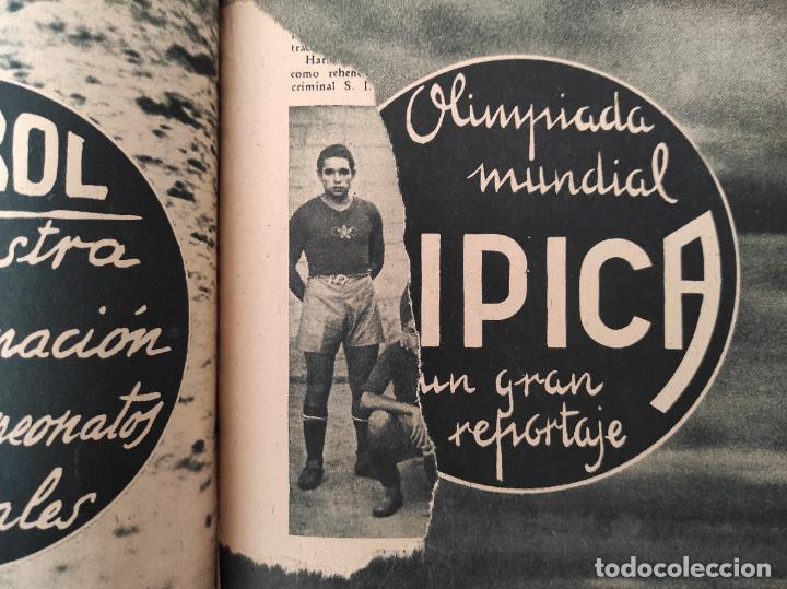 Coleccionismo deportivo: TOMO SEMANARIO GRAFICO DE LOS DEPORTES MARCA 1938-1939 13 PRIMEROS Nº 1-2-3-4-5-6-7-8-9-10-11-12-13 - Foto 23 - 237866785