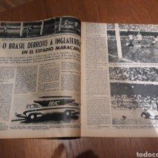Collezionismo sportivo: MARCA 1959 .BRASIL 2 INGLATERRA 0. IV COPA DE EUROPA FINAL R.MADRID- REIMS .FUTBOL ARGENTINO. Lote 237985555