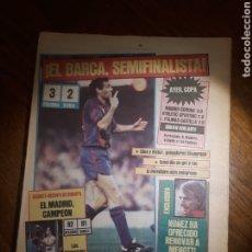 Coleccionismo deportivo: SPORT 1984 . OSASUNA 3 BARCA 2 . FERNANDO MARTIN . BORG . MADRID CAMPEON RECOPA DE BALONCESTO. Lote 237989855