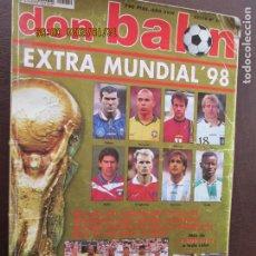 Collectionnisme sportif: REVISTA DON BALÓN - EXTRA MUNDIAL 98 - EXTRA Nº 39 - + DE 1000 FOTOS - 32 SELECCIONES AL DETALLE.. Lote 238137580