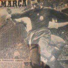 Collezionismo sportivo: REVISTA MARCA 1959. EL FABULOSO GENTO - FISHER AJEDREZ - COPA LATINA DE HOCKEY.SANTANA EN ARGENTINA. Lote 238173195