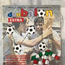Coleccionismo deportivo: FÚTBOL DON BALÓN EXTRA 19 - MUNDIAL ITALIA 90 - WORLD CUP 1990 ITALY. Lote 238223005