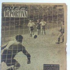 Coleccionismo deportivo: VIDA DEPORTIVA NÚMERO 190, ABRIL DE 1949. Lote 238242870