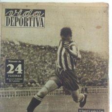 Coleccionismo deportivo: VIDA DEPORTIVA NÚMERO 191, MAYO DE 1949. Lote 238243335