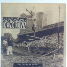 Coleccionismo deportivo: VIDA DEPORTIVA NÚMERO 203, JULIO DE 1949. Lote 238244710