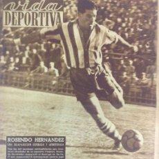 Coleccionismo deportivo: VIDA DEPORTIVA NÚMERO 211, SEPTIEMBRE DE 1949. Lote 238246720