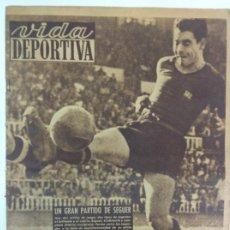 Coleccionismo deportivo: VIDA DEPORTIVA NÚMERO 212, SEPTIEMBRE DE 1949. Lote 238246980