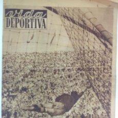 Coleccionismo deportivo: VIDA DEPORTIVA NÚMERO 214, OCTUBRE DE 1949. Lote 238247760