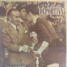 Coleccionismo deportivo: VIDA DEPORTIVA NÚMERO 215, OCTUBRE DE 1949. Lote 238248035