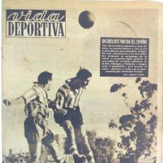 Coleccionismo deportivo: VIDA DEPORTIVA NÚMERO 216, OCTUBRE DE 1949. Lote 238248495