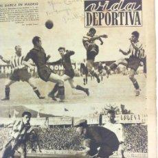 Coleccionismo deportivo: VIDA DEPORTIVA NÚMERO 218, NOVIEMBRE DE 1949. Lote 238249770