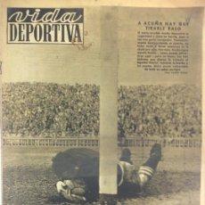Coleccionismo deportivo: VIDA DEPORTIVA NÚMERO 220, NOVIEMBRE DE 1949. Lote 238250530